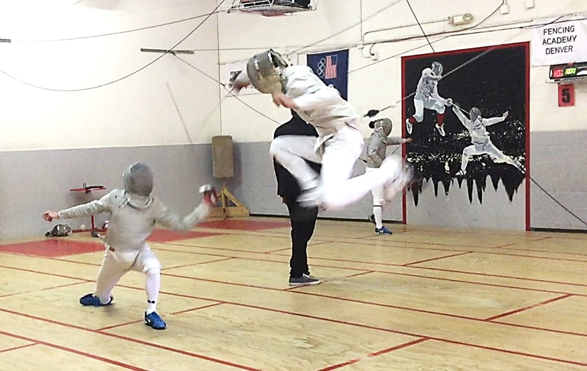 Duke City Fencing at the Colorado Cup Tournament
