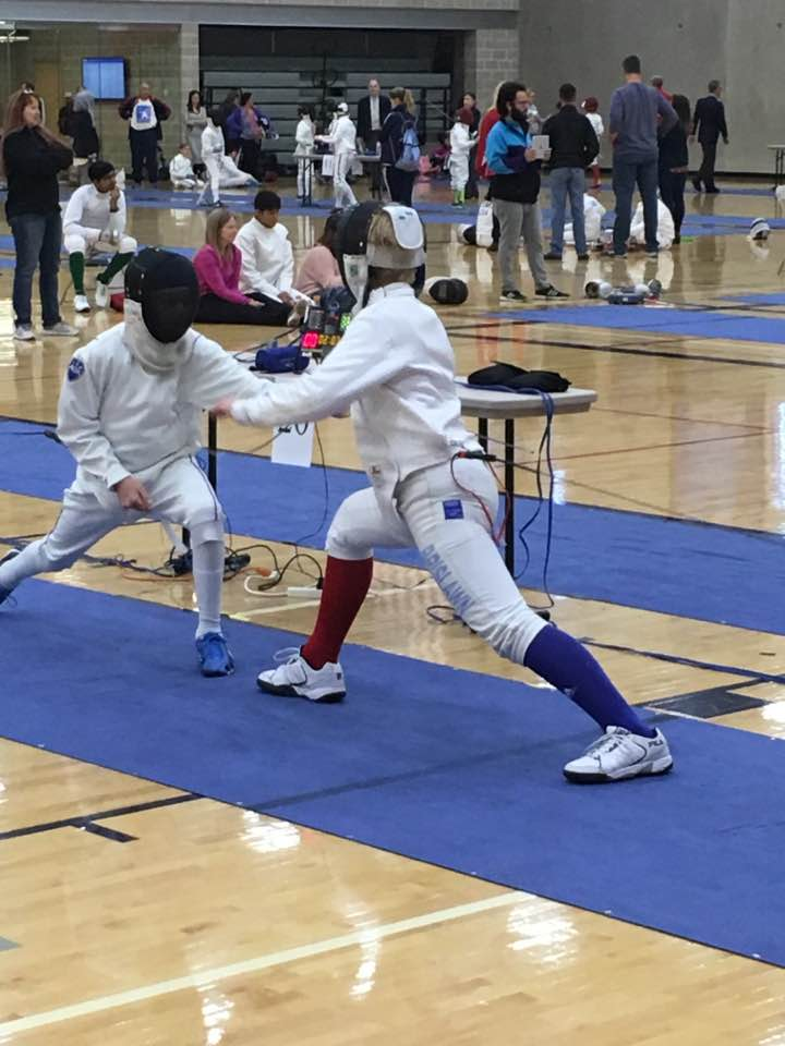 Epee Fencing Austin Challenge SYC RCC